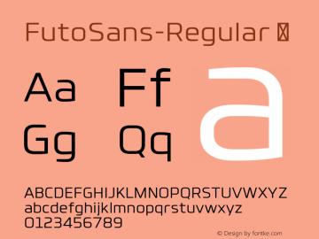 FutoSans-Regular