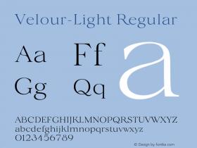 Velour-Light