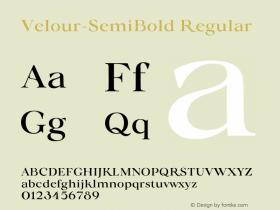Velour-SemiBold