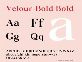 Velour-Bold