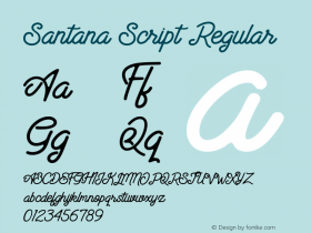 Santana Script