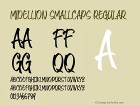 Midellion SmallCaps