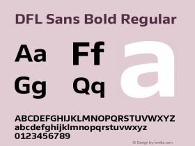 DFL Sans Bold