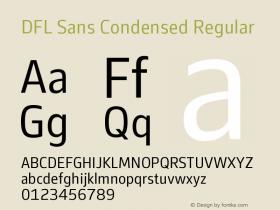 DFL Sans Condensed