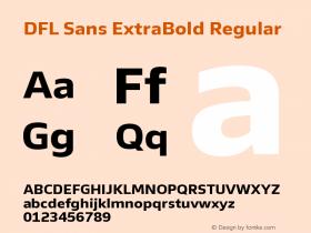 DFL Sans ExtraBold