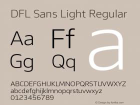 DFL Sans Light