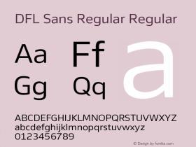 DFL Sans Regular