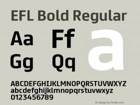 EFL Bold
