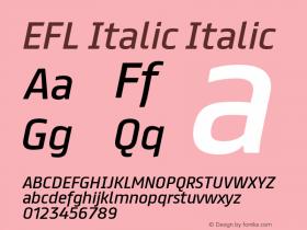 EFL Italic