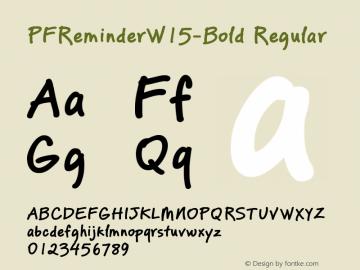PFReminderW15-Bold