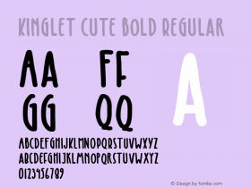 Kinglet Cute Bold