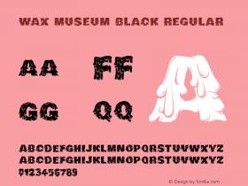 Wax Museum Black