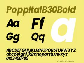 PoppItalB30
