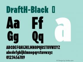 DraftH-Black