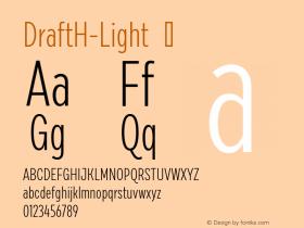 DraftH-Light