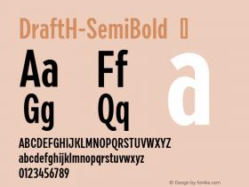 DraftH-SemiBold