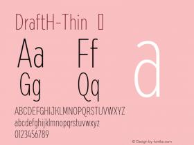 DraftH-Thin
