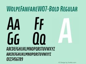 WolpeFanfareW07-Bold