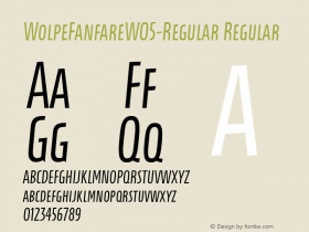 WolpeFanfareW05-Regular
