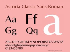 Astoria Classic Sans