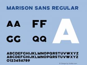 Marison Sans