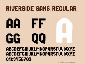Riverside Sans