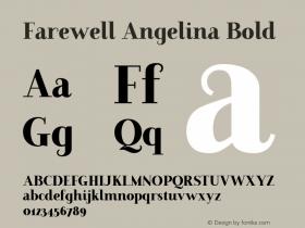Farewell Angelina
