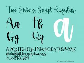 Two Sisters Script