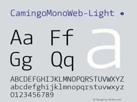 CamingoMonoWeb-Light