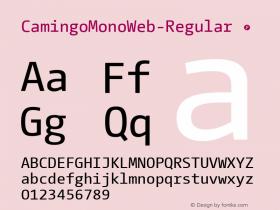 CamingoMonoWeb-Regular