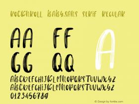 Rocknroll Baby.sans serif