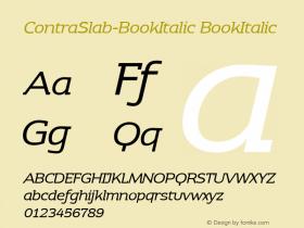 ContraSlab-BookItalic