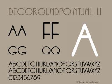 DecoRoundpointJNL