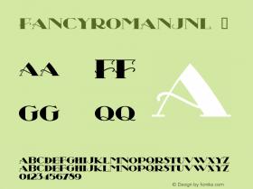 FancyRomanJNL