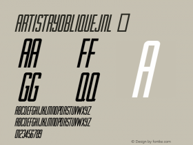 ArtistryObliqueJNL