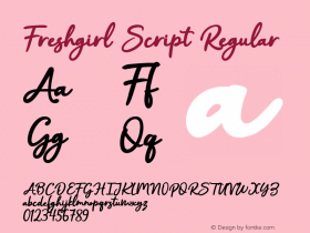 Freshgirl Script
