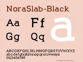 NoraSlab-Black