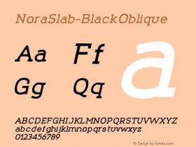 NoraSlab-BlackOblique