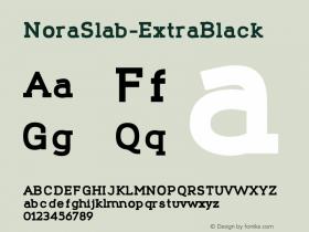 NoraSlab-ExtraBlack