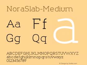 NoraSlab-Medium