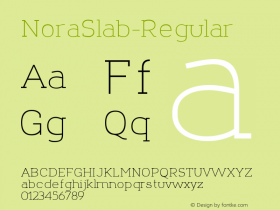 NoraSlab-Regular