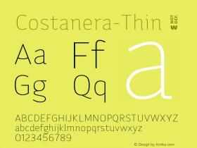 Costanera-Thin