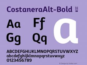 CostaneraAlt-Bold