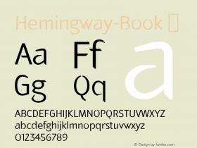 Hemingway-Book