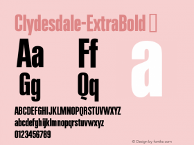Clydesdale-ExtraBold