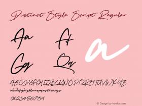 Distinct Style Script
