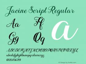 Jacine Script
