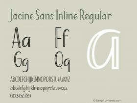 Jacine Sans Inline