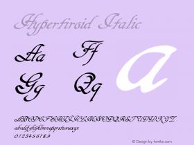 Hypertiroid