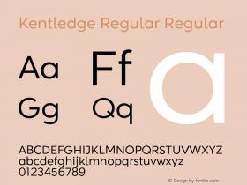 Kentledge Regular